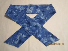 """Extra Wide 3"""" Reusable Non-Toxic Cool Wrap / Neck Cooler  - Tones and Marbled - Royal Blue by ShawnasSpecialties on Etsy"""