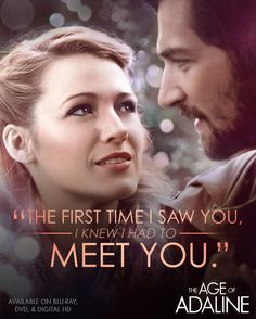 Watch #Adaline's incredible journey unfold over a century in The Age of Adaline, starring Blake Lively. Now on Blu-ray, DVD & Digital HD.