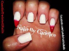 Vampire Fangs by TwistedNails - Nail Art Gallery nailartgallery.nailsmag.com by Nails Magazine www.nailsmag.com #nailart
