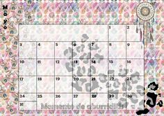 Calendario mensual #2015 - #Mayo
