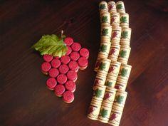 Grape coasters