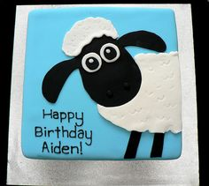 Shaun the Sheep cake | by oliviaskitchen