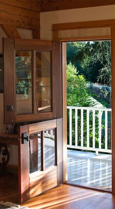 Dutch Doors - traditional - front doors - Real Carriage Door Company