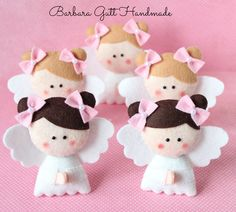 Adorable angel ornaments