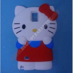 Carcasa divertida kitty 3D para Galaxy Note 4