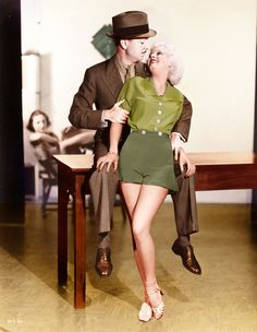 William Powell and Jean Harlow