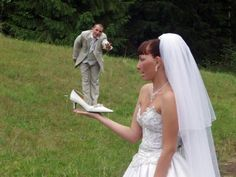 Awfully photoshopped Russian wedding pictures - thanks sad and useless