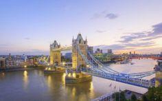Tower bridge à Londres, Angleterre (Grande Bretagne)