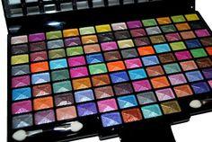 #48 #Splashing Paint Design Color Eyeshadow Makeup Kit #Palette       Awesome Eye Shadow!       http://amzn.to/H9IdMl