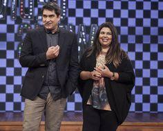 Zeca Camargo e Fabiana Karla.