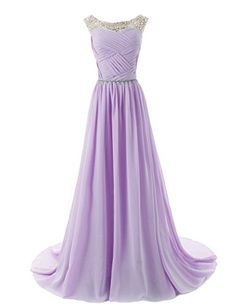 Dressystar Chiffon Beads Bridesmaid Dresses Long Prom Dress Party Gowns Size 2 Lavender Dressystar http://www.amazon.com/dp/B00KVS0MAY/ref=cm_sw_r_pi_dp_1XyTtb1C2QJMQWJW