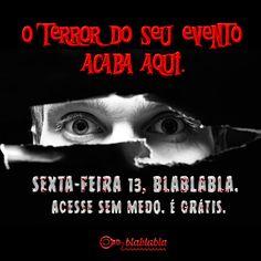 Comemore sem medo! www.blablablaeventos.com.br