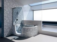 Tub Shower Combo for Small Bathroom