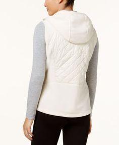 Columbia Warmer Days Hooded Fleece Vest - Purple XL