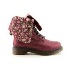 Shop for Womens Dr. Martens Triumph Boot in Red at Journeys Shoes. Shop today for the hottest brands in mens shoes and womens shoes at Journeys.com.The Triumph boot from Dr. Martens features a leather upper that folds down to reveal a flowered print lining. 12-eye ribbon lace up closure.