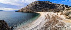 Beach Oprna - Stara Baška - Island Krk - Kvarner - Croatia