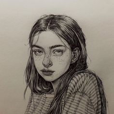 ideas for simple art drawings pencil beautiful portraits Cool Art Drawings, Pencil Art Drawings, Art Drawings Sketches, Fairy Drawings, Portrait Sketches, Art Inspo, Kunst Inspo, Art Du Croquis, L'art Du Portrait