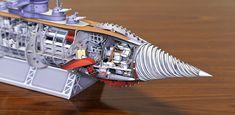 B5_2 Plastic Models, Godzilla, Spaceship, Opera House, Sci Fi, Japan, Building, Travel, Paper Toys