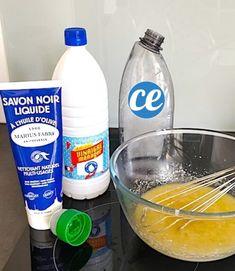 fabriquer gel wc maison avec savon noir et vinaigre blanc
