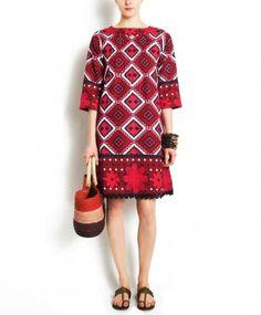 Red+Khanga+Dress