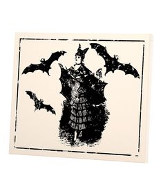 Take a look at this Bat Lady Small Wall Art on zulily today!