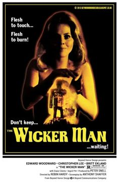 The Wicker Man by Beyond Horror Design