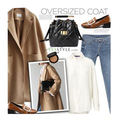 """YesStyle - 10% off coupon (Chic Oversized Coats)"" by beebeely-look ❤ liked on Polyvore featuring Ralph Lauren, Emini House, Gucci, Winter, yesstyle and oversizedcoats"