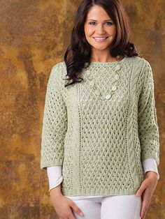 Knitting - Patterns for Wearables - Patterns for Tops - Seneca Lake