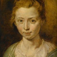 Peter Paul Rubens, Clara Serena c.1620-1623. Antes de la restauración