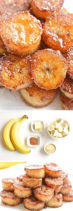 These pan fried cinnamon bananas are soooooo good! They only take a few minutes to make and they transform boring old bananas into an amazing snack or dessert. They taste amazing (seriously AMAZING) served over ice cream, yogurt, french toast or pancakes. Fruit Recipes, Sweet Recipes, Dessert Recipes, Cooking Recipes, Cooking Tips, Recipies, Orange Recipes, Dessert Ideas, Dinner Recipes