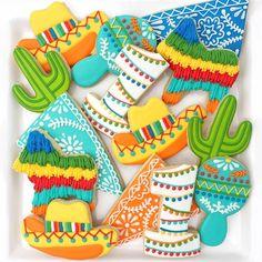 """Fiesta! #thedoughmestichousewife #doughmestichousewife #decoratedcookies"" Photo taken by @doughmestichousewife on Instagram, pinned via the InstaPin iOS App! http://www.instapinapp.com (04/07/2015)"