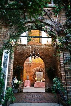 12 Crazy-Cool Wedding Venues #refinery29 http://www.refinery29.com/wedding-party/11#slide-11 The Romantic Ruins At Barnsley ResortGetting married among ruins might not sound like your cup of tea, but we bet you'll quickly change your mind once you see the gothic, romantic venue at Barnsley Resort....