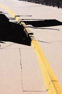 broek-07 2012-13 Edges of Urban Space, Border paintings by Koen Van Den Broek