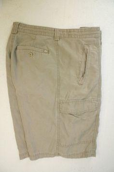 Tommy Bahama Relax Tencel Blend Cargo Shorts Marlin (Mens 35) Tan 2564 #TommyBahama #Cargo