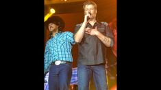"""Blake Shelton and Luke Bryan duet """"All My Ex's Live In Texas"""" by George ..."""