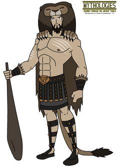 Mythologies - Hercules 2015 by HewyToonmore on DeviantArt Games Workshop Store, Game Workshop, Hercules Mythology, Greek Monsters, Nemean Lion, Roman Names, Anime City, Roman Gods, Hercules