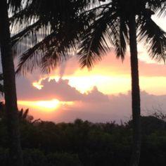 Sunset over Molokai. #KathleenAlexander #KathleenAlexanderWatercolors #mauiartist Watercolor Ocean, Maui, Celestial, Sunset, Artist, Outdoor, Instagram, Outdoors, Artists