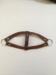 Eco-Friendly Leather Dog Harness