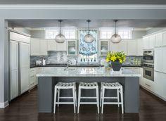 kitchen | Martha O'Hara Interiors  I just like this look