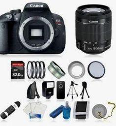 Canon EOS Rebel T5i SLR Camera +18-55 STM, + 32GB $564.99 reg. $899.99 http://wp.me/p3bv3h-9qu