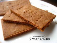 Homemade Graham Crackers... I've been baking lately. More baking than normal.  I've felt the need to bake some of the many recipes I've bo...