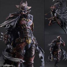 Play Arts Kai Batman Variant Timeless Wild West Action Figure Square Enix