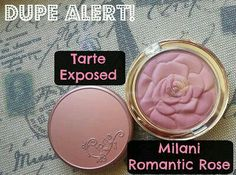 Tarte Exposed dupe