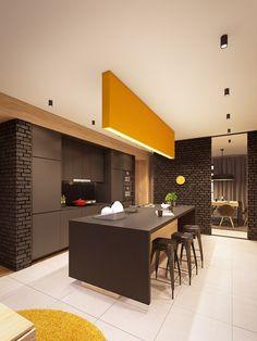 retro-inspired mustard and brown palette | PLASTERLINA, visualizer Jan Wadim