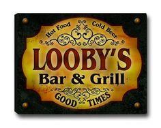 Looby Family Bar & Grill Stretched Canvas Print ZuWEE http://www.amazon.com/dp/B00LDLU1IQ/ref=cm_sw_r_pi_dp_zyerub1PNG1DJ