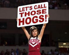 Let's call those Hogs! #Razorbacks