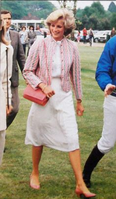 1983-05-29 Diana at Smith's Lawn polo grounds, Windsor