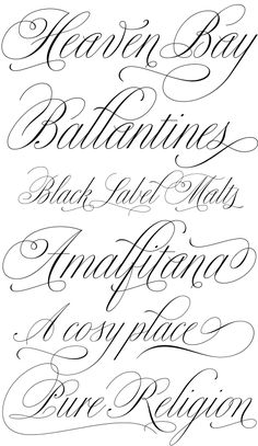 ... batch of new type is Alejandro Paul's Bellissima — a delicate copperplate script in a similar vein as his exuberantly flourished Burgues and Compendium.