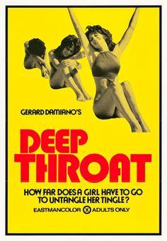 "Movie Posters:Adult, Deep Throat (Aquarius Releasing, 1972). One Sheet (28"" X 40.5"")....."