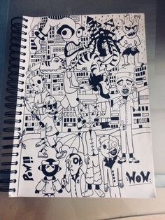 Doodles comic art